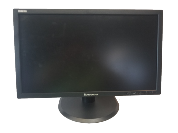 This photo shows a 24 inch LCD monitor