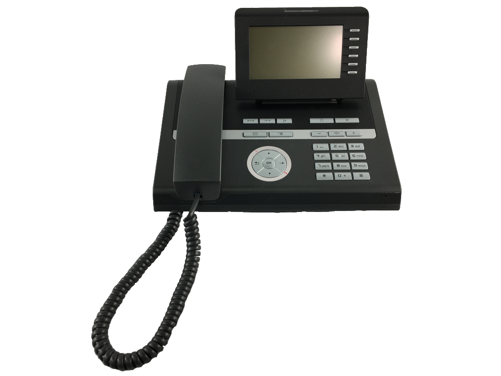 This photo shows a Siemens Open Stage 40 phone