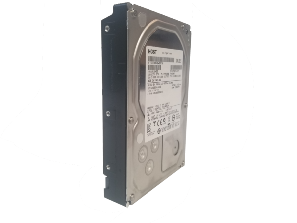 This photo shows a 3.5 inch Terabyte HDD