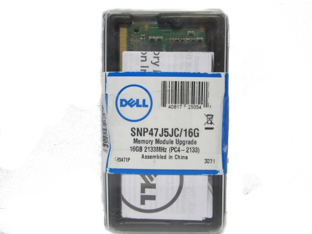 Dell Laptop Memory
