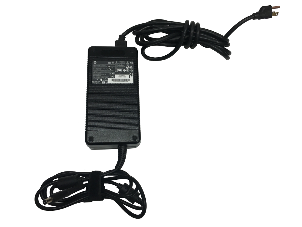 This photo shows an HP 230 Watt AC Adapter - Standard Tip