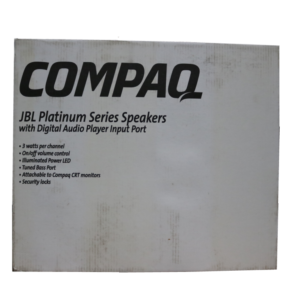 Compaq/JBL Platinum Series Speakers